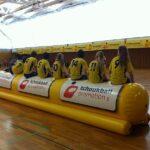 Das Thüringer Dreamteam verfolgt ein Spiel anderer Mannschaften. Foto: Stefan Anhalt