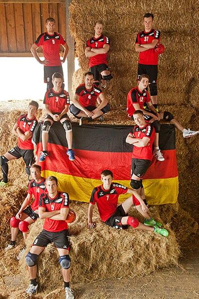 Deutschland Männer A (Foto: Lara Diederich)